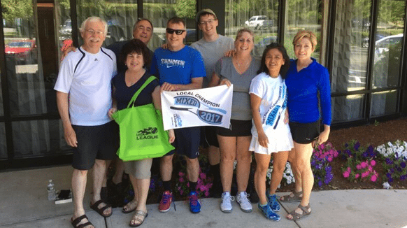 Adult Tennis League at Vermont Sport & Fitness