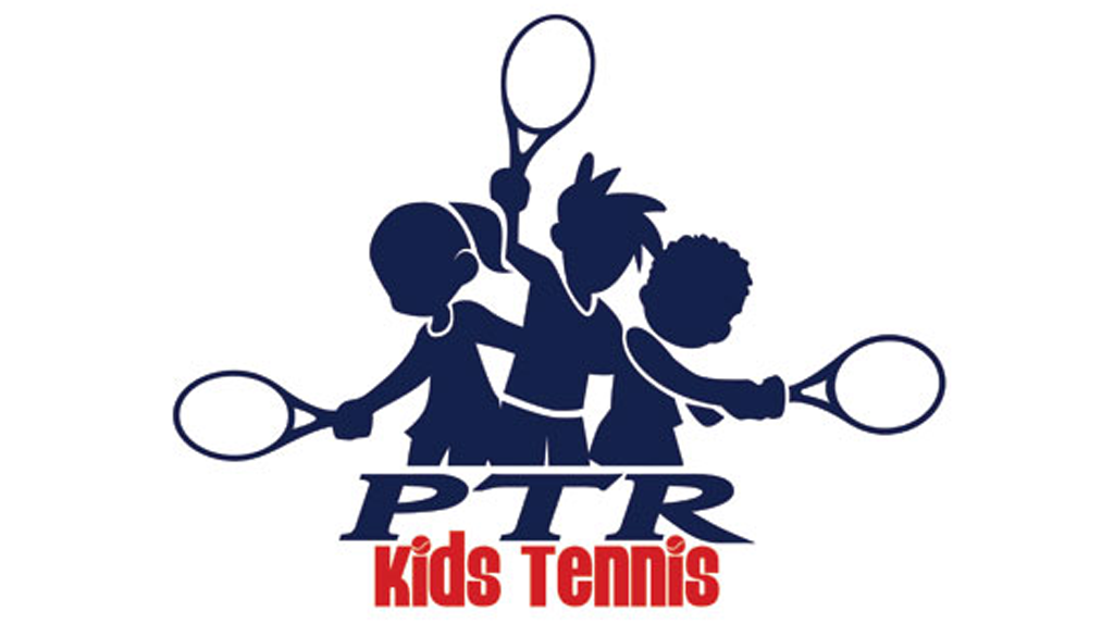 Junior tennis academy logo for Vermont Sport and Fitness club.