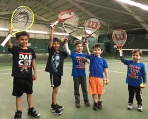 Tennis kids at vermont sport and fitness