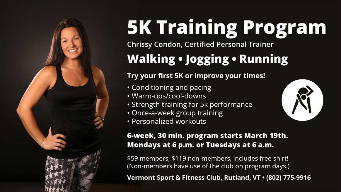5k Training with Personal Trainer Chrissy