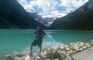 Dan Doenges on a hike
