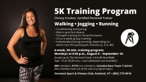5K Training Program at VS&F with Chrissy
