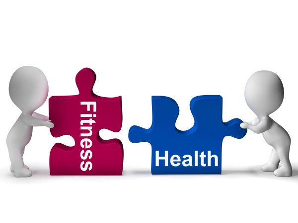 Health and Fitness puzzle pieces